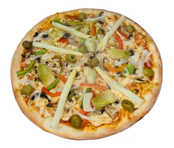 Foto Pizza vegetariana